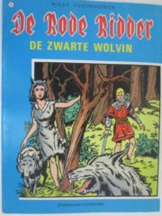 De rode ridder: De zwarte wolvin