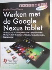Werken met Google Nexus tablet