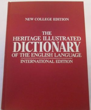 The Heritage Illustrated Dictionary of the English language
