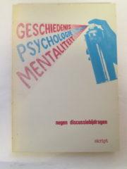 Geschiedenis psychologie mentaliteit