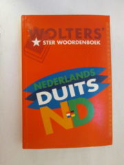 Wolters Ster woordenboek Nederlands – Duits
