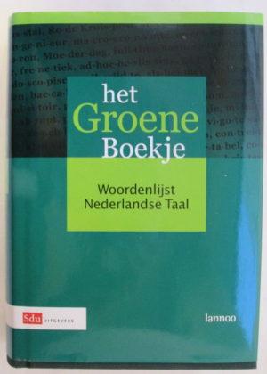 Het groene boekje Woordenlijst Nederlandse Taal