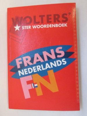 Wolters' Sterwoordenboek Frans- Nederlands