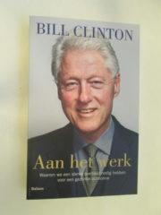 Aan het werk – Bill Clinton
