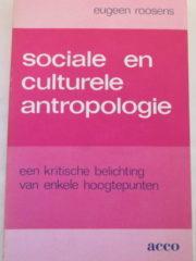 Sociale en culturele antropologie