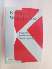Kramers woordenboek Engels-Nederlands