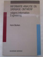Informatie-analyse en database-ontwerk – Henk Blanken