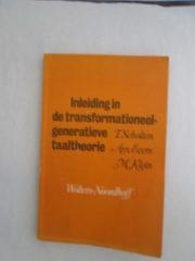 Inleiding in de transformationeel-generatieve taaltheorie