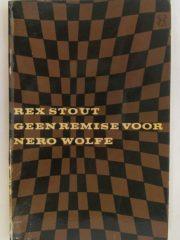 Geen remise voor Nero Wolfe