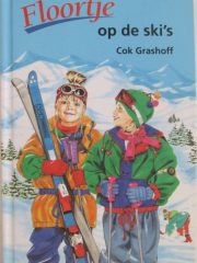 Floortje op de ski's